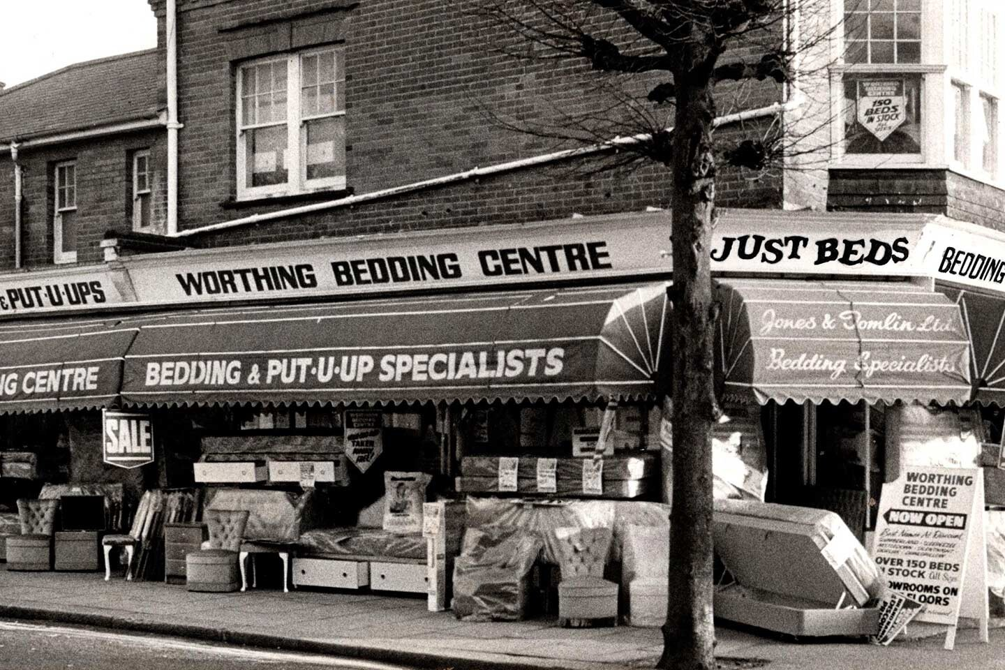 worthing-bedding-centre-olden-times