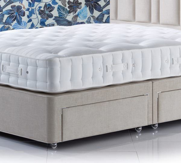 Hypnos Standard Height Platform Top, Good Quality Queen Bed Frame