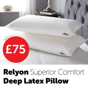 Relyon-Superior-Comfort-Deep-Latex-Pillow-£75