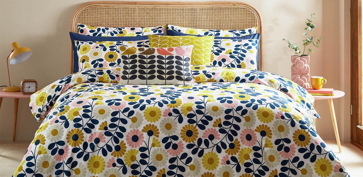 Orla Kiely Spring Summer 2021 Bedding at Jones and Tomlin