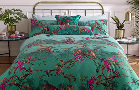 Ted Baker Hibiscus Bed Linen